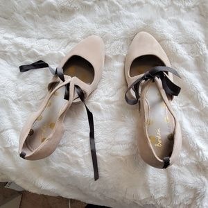 Boden suede and real leather shoes